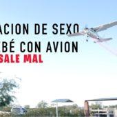 Revelación de sexo del bebé con avión SALE MAL