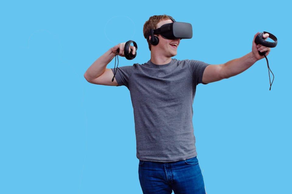 icon vr oculus facebook logo
